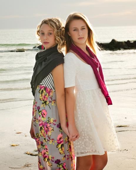 Tampa Teen Photography, Honeymoon Island, Dunedin Florida