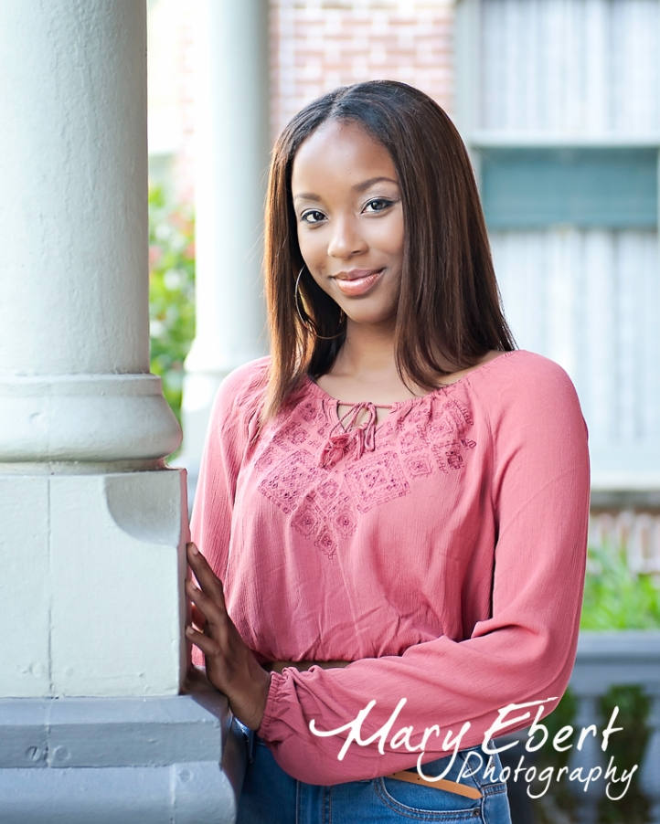 Senior Portrait Session at University of Tampa,