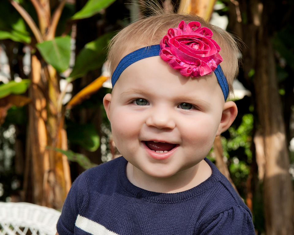 South Tampa Children Photographer of 18 month old girl
